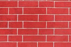 Frammento di vecchia parete della fortezza del mattone rosso come fondo dei precedenti originali fotografia stock libera da diritti