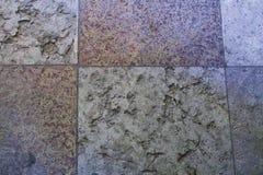 Frammento di vecchio pavimento di pietra nel Peter ed in Paul Cathedral a St Petersburg, Russia fotografia stock libera da diritti