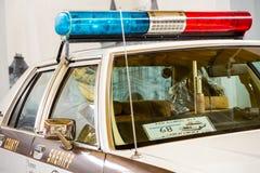 Frammento di vecchio volante della polizia Fotografia Stock Libera da Diritti