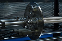 Frammento industriale Fotografie Stock