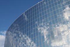 Frammento moderno dell'edificio per uffici Fotografie Stock