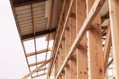 Framming einer neuen Scheune im Bau Lizenzfreie Stockbilder