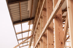 Free Framming Of A New Barn Under Construction Royalty Free Stock Images - 46701059