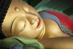 Framsida av buddha Royaltyfri Bild