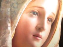 Framsida av den jungfruliga Maryen Royaltyfri Foto