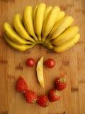 Framsida av frukter Fotografering för Bildbyråer