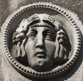 Framsida av gudinnan Hera Arkivfoto