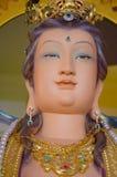 Framsida av härliga Guanyin Arkivfoton