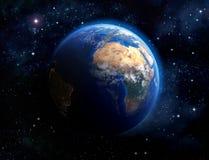 Framsida av jorden Arkivfoto
