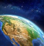 Framsida av jorden Vektor Illustrationer