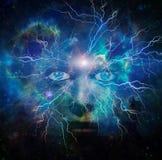 Framsida av universum Royaltyfri Fotografi