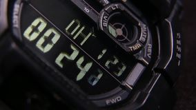 Framsida för Digital klocka lager videofilmer