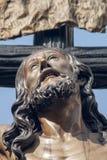 Framsidagröngöling Triana, påsk Sevilla Royaltyfria Foton