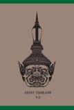 Framsidajätte Thailand Royaltyfri Foto