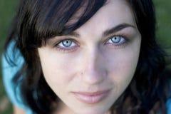 framsidakvinna arkivfoto