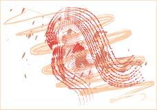 framsidakvinna Arkivbild