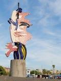 Framsidan av Barcelona i Spanien Arkivfoton