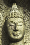 Framsidan av Buddha Royaltyfri Foto