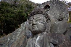 Framsidan av Daibutsuen royaltyfria bilder
