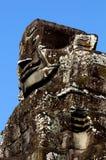 Framsidor av Angkor Arkivfoto