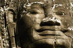Framsidor av Angkor Royaltyfria Bilder