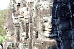 Framsidor av Angkor Arkivbild