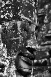 Framsidor av Bayon, Angkor Wat Royaltyfri Foto