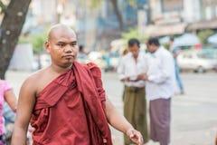 Framsidor av Myanmar Royaltyfri Foto