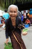 Framsidor för gamla kvinnor Royaltyfria Foton