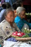 Framsidor för gamla kvinnor Royaltyfri Bild