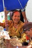 Framsidor för gamla kvinnor Royaltyfri Foto