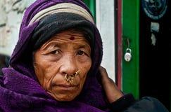 Framsidor från Gangtok Arkivbild