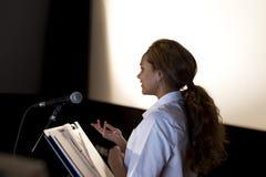 framställning av anförande arkivfoto