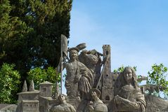 Framställning av Arezzo brons Royaltyfri Bild