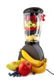 framställning av smoothies royaltyfria foton