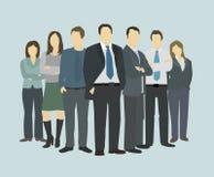 Framstickande för direktör för affärsgrupp högsta Arkivfoto