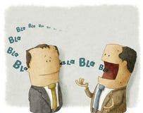 Framstickande med anställd Stock Illustrationer
