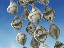framställning av pengar Arkivbild