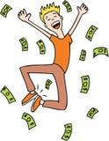 framställning av pengar Royaltyfria Foton