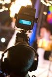 framställning av videoen Royaltyfria Foton