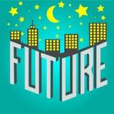 framtid Fotografering för Bildbyråer