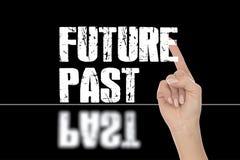 framtid past stock illustrationer