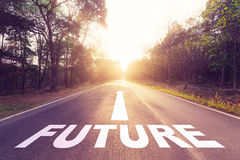 Framtida begrepp Fotografering för Bildbyråer