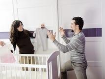 Framtida familj Fotografering för Bildbyråer