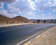 framtida huvudväg som är solig till Arkivbild