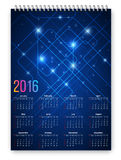Framtida kalender Royaltyfri Bild