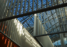 framtida korridorrijksmuseum för ingång arkivbilder