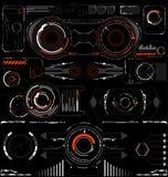 framtida manöverenhet Digital beståndsdelar Royaltyfria Bilder