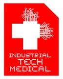 Framtida medicin stock illustrationer