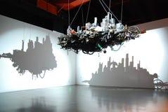 framtida paviljong 2010 för expo shanghai Arkivbild